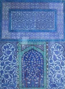 トプカプ宮殿の壁面タイル